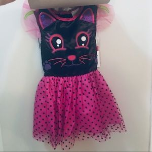 New with tags 3 piece Cat Halloween Dress